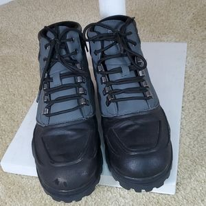 Fila Black & Gray Waterproof Boots